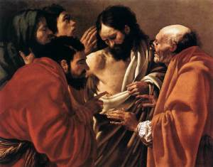 Hendrick ter Brugghen - The Incredulity of Saint Thomas (Public Domain)